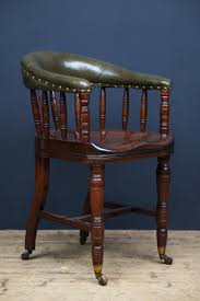 antique desk chair with scalloped seat antique office chair
