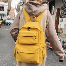 DCIMOR New <b>Waterproof Nylon Backpack</b> for <b>Women</b> Multi Pocket ...