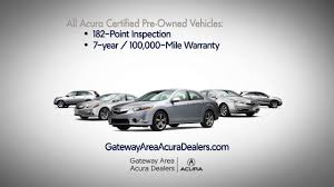 Acura Dealer Mn Certified Pre Owned Vehicles Gateway Area Acura Dealers Youtube