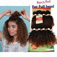 <b>8pieces of ombre kinky</b> curly human hair weave Cheap Kinky Curly ...
