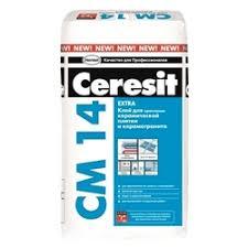 «<b>Клей Ceresit</b> CM 14/5 Extra <b>для плитки</b> и керамогранита 5 кг ...