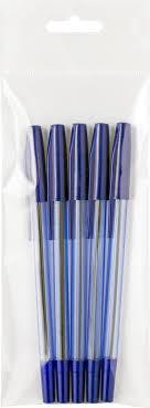 <b>Набор шариковых ручек Index</b> Goody, цвет чернил: синий, 5 шт ...