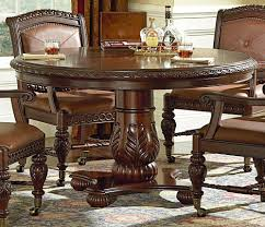 round dining tables for sale  dining room  artistic carving on maple round dining room tables for classic room with