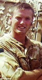 Corporal Stephen Allbutt, 35, of Sneyd Green, Stoke-on-Trent, Staffordshire, was killed by 'friendly fire' in March 2003 after his Challenger 2 tank was hit ... - article-2009855-02E5B7050000044D-387_224x423