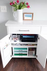 iheart organizing family charging station cabinet charging station kitchen central office