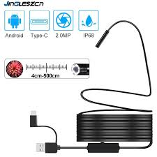 1920*1080 <b>Newest USB Snake Inspection</b> Camera 2.0 MP IP68 ...