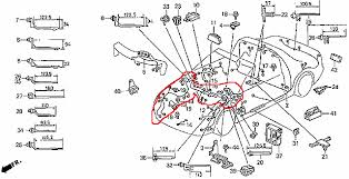 need diagram to remove delsol wire harness honda tech runs under the dash ecu wire then into the engine bay what i have to replace is circled in red is there a how to to take out and install this