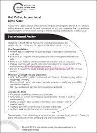 resume senior internal auditor formal letter format bbc required cover letter resume senior internal auditor formal letter format bbc required gulf drilling internationalinternal resume format
