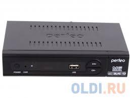 <b>Тюнер</b> цифровой <b>DVB</b>-<b>T2 Perfeo</b> PF-168-1-OUT — купить по ...