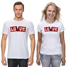 Футболки парные <b>Лова лова</b> - white edition #2565691 за 1 799 ...