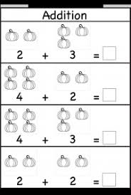 Pumpkin Picture Addition – Kindergarten Addition Worksheet / FREE ...halloween worksheet