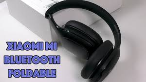 Беспроводные <b>Xiaomi Mi Bluetooth</b> Foldable - YouTube