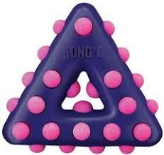 """<b>Kong Dotz Игрушка</b> для собак """"Треугольник"""" малый 11 см. (28007)"""