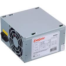 <b>Блок питания</b> 450Вт <b>ATX</b> 2.2 <b>Exegate AAA450</b>, 8 см, 24 плюс 4pin ...