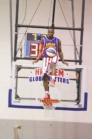 around the world and home again the wilson times harlem globetrotters flip shows off some soccer skills in a strange place wednesday evening in