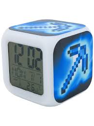 <b>Часы</b>-<b>будильник Pixel Crew Pixel Crew</b> 13766346 в интернет ...