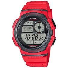 Купить электронные <b>часы Casio</b> Collection Ae-1000w-<b>4a</b> Red ...