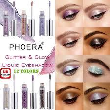 <b>12 Colors Eyeshadow</b> Liquid <b>Waterproof</b> Glitter <b>Eyeliner</b> Shimmer ...