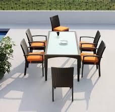 modern brown set patio source outdoor