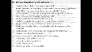 s director job description s director job description