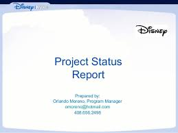 One Page Project Status Report Template   A Weekly Status Report Word Templates