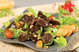Salade Quercynoise avec gésiers de canards