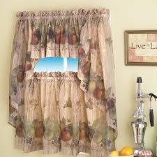 Kitchen Curtains At Walmart Kitchen Curtains Walmart Idea Agemslifecom
