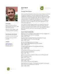 Curriculum Vitae: International Format Of Curriculum Vitae John-Ingram-CV-Oct20.. - EcoPlan International by tangshuming
