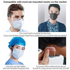 JISON21 <b>Adjustable Anti-Slip Mask Ear</b> St- Buy Online in Maldives ...