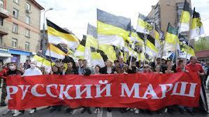 """В Москве прошел """"Русский марш"""": """"Русский значит трезвый"""" - Цензор.НЕТ 1789"""