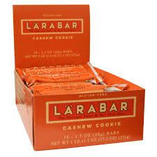 Larabar, <b>Печенье с кешью</b>, <b>16</b> печений, 1,7 унции (48 г) каждое ...