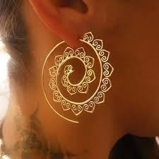 <b>Boho</b> Swirl <b>Tribal</b> Earrings | <b>Style</b> Select – The Young Hippie
