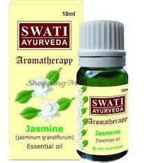 <b>Эфирное масло Жасмин</b> 10мл (Swati <b>Khadi Jasmine</b> Essential Oil)