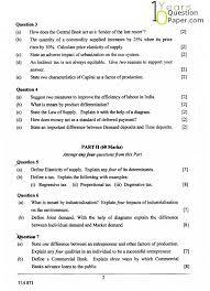 icse economic application class x board question paper  icse 2014 class 10th economic application question paper