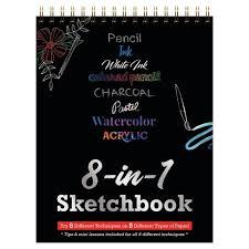 <b>8-in-1</b> Coloring Sketchbook - Piccadilly : Target