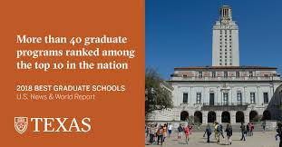 u s news ranks more than 40 programs at ut austin among nation s austin texas the university of texas at austin has more than 40 graduate programs ranked among the top 10 in the nation and four programs ranked no