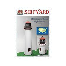 <b>Сборная картонная модель</b> Shipyard маяк Minnesota Point ...