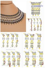 Diy <b>necklace</b> patterns, Beaded jewelry patterns, <b>Bead</b> jewellery