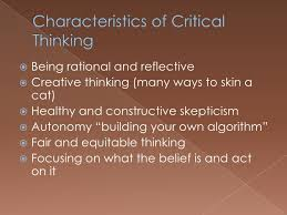 Creative Thinking   Critical Thinking