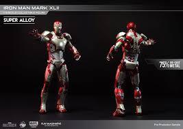 play imaginative super alloy iron man mark 42 1 bootleg iron man 2 starring