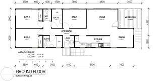 Affordable Housing on Stilts   Green Arc Bedroom House Stilts Large