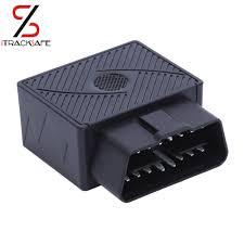 Plug Play <b>OBDII OBD2 OBD 16 PIN</b> Auto Car <b>GPS Tracker</b> locator ...