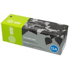 <b>Картридж</b> для лазерного принтера Cactus CS-Q2612AS Black ...
