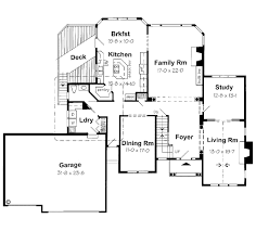 House Plan at FamilyHomePlans comEuropean Traditional House Plan Level One