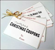 printable book of christmas coupons great gift idea the printable book of christmas coupons