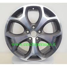 Cerchio in lega <b>WSP</b> W950 <b>Max</b> Mexico antracite polished Ford