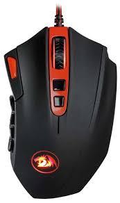 <b>Мышь Redragon</b> Firestorm Black-Red USB — купить по выгодной ...