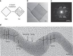 Synthesis of <b>hexagonal</b> close-packed gold nanostructures | Nature ...