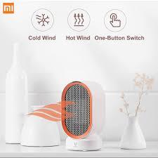 Xiaomi <b>VIOMI Electric Heaters</b> Countertop Mini Home Room Handy ...