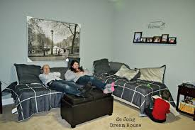 Bedroom For Two Twin Beds 3 In 1 Flex Room Guest Suite Play Room Room For Two Remodelaholic